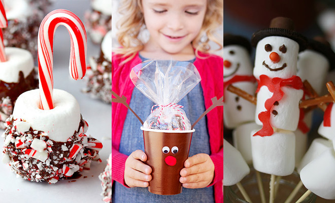 Kersttraktaties voor kinderen