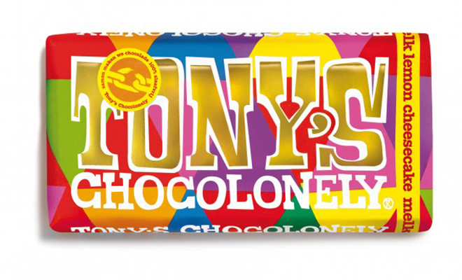 Tony;s Chocolonely's Lemon Cheesecake