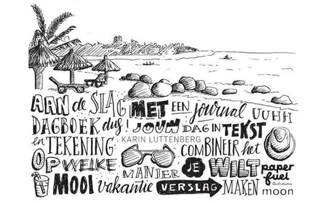 Handlettering journal, Karin Luttenberg