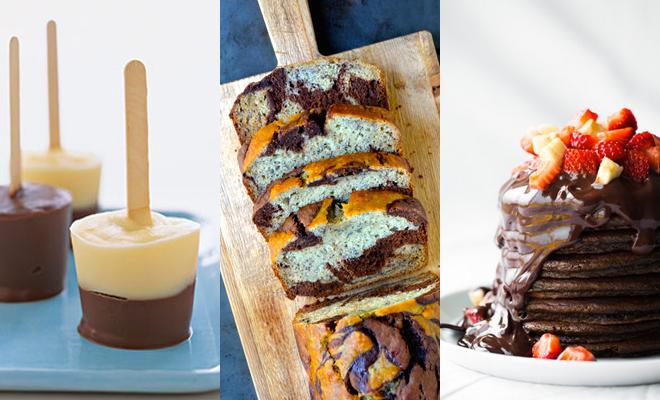 9x chocolade desserts