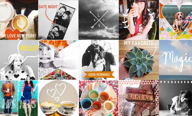 A beautiful mess: foto-app