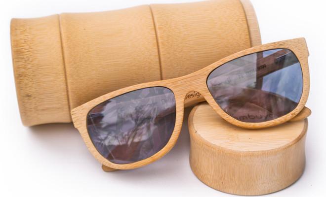 bamboe bril