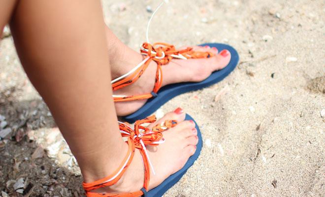 Vrolijke slippers van Bandajanas