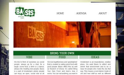 basis Amsterdam restaurant