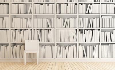 boeken behang