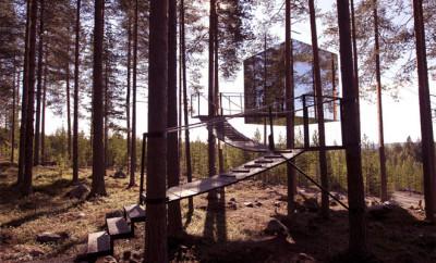 boomhotel Zweden