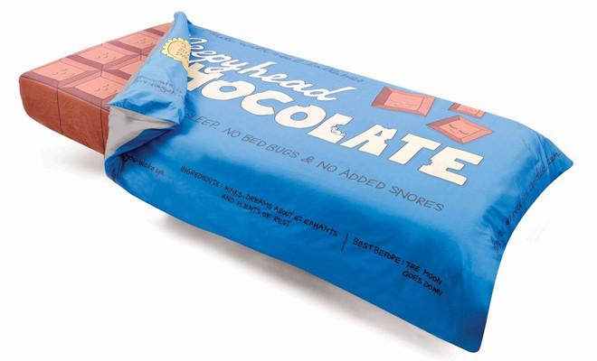 chocolade dekbedovertrek