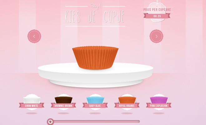 Cupcakes ontwerpen, Studio Cupcake