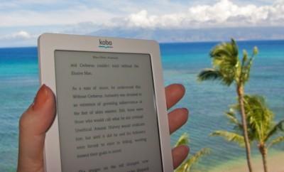 ebook, vakantie