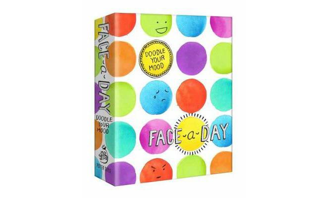 Teken je humeur: face a day