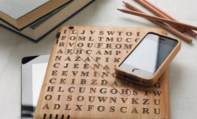 iPhone hoesje woordzoeken