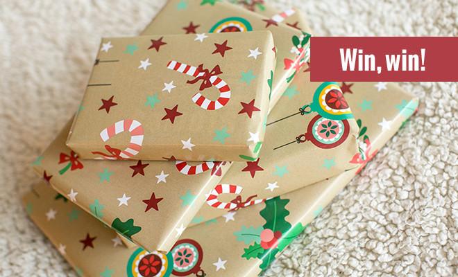 Kerstcadeautjes Give away
