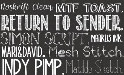 lettertypes boek