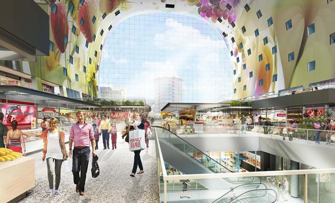 Markthal Rotterdam: walhalla voor foodies
