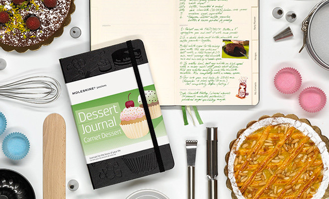 moleskine dessert journal