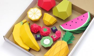 Papieren fruit