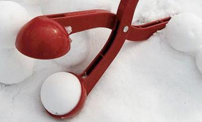 Perfecte sneeuwballen - sneeuwbal tang