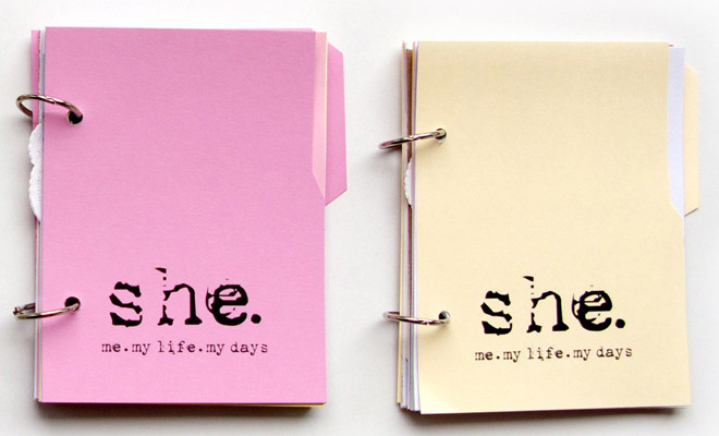 She dagboek voor reflectie