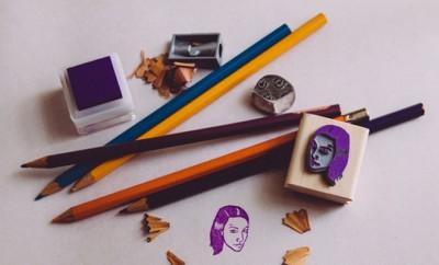 Stamp yo face: stempel van je eigen hoofd