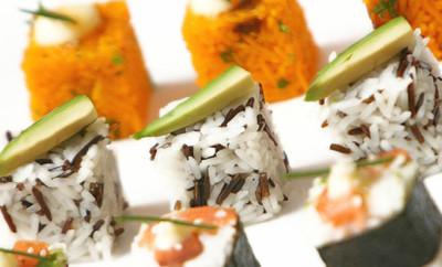 Sushi maken met de rice cube