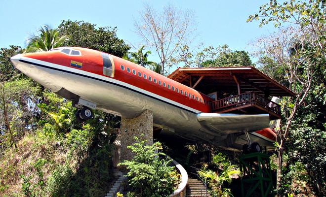 vliegtuighotel Costa Rica