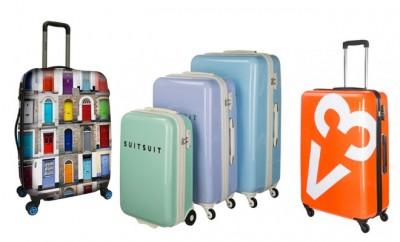 Vrolijke koffers