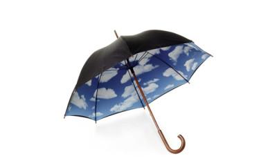 wolken paraplu