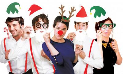 Xmas-photobooth: de leukste kerstfoto's