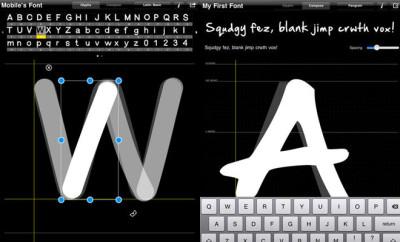 zelf lettertypes maken