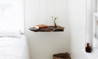 Zwevend nachtkastje